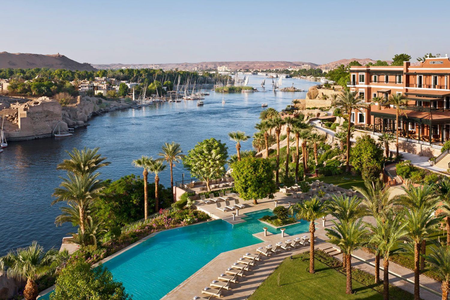 Sofitel Old Cataract Aswan Hotelanlage