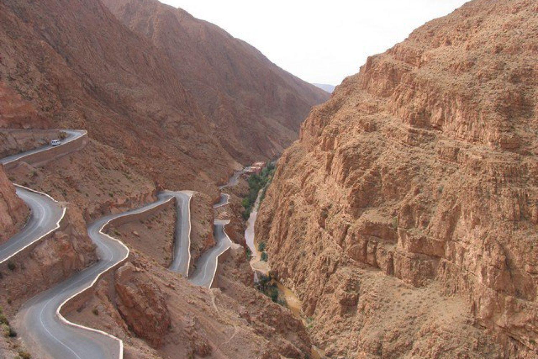 Dades-Schlucht Marokko