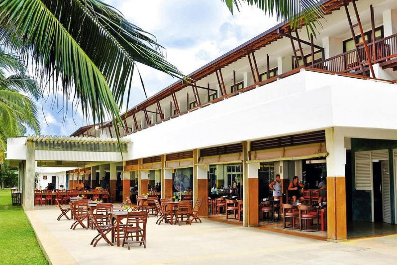 Hotel Goldi Sands Sri Lanka Aussenansicht