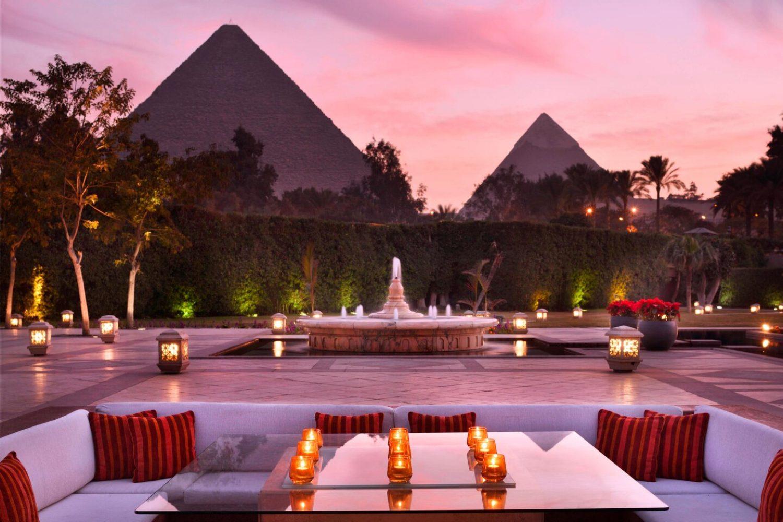 Hotel Mena House Kairo Gartenanlage