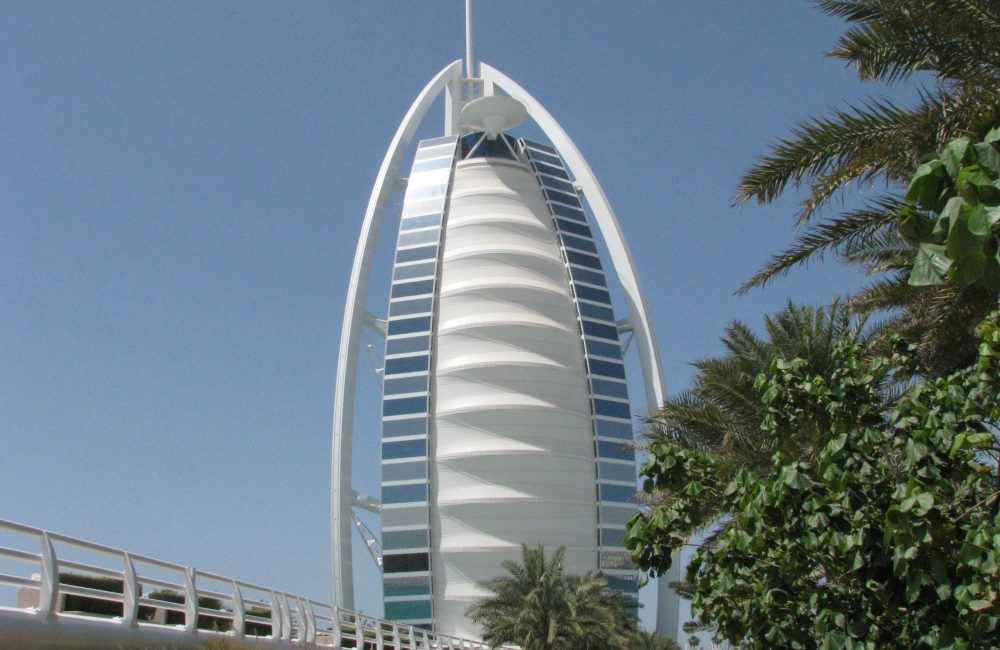 Hotel Burj Al Arab Dubai VAE Aussenansicht