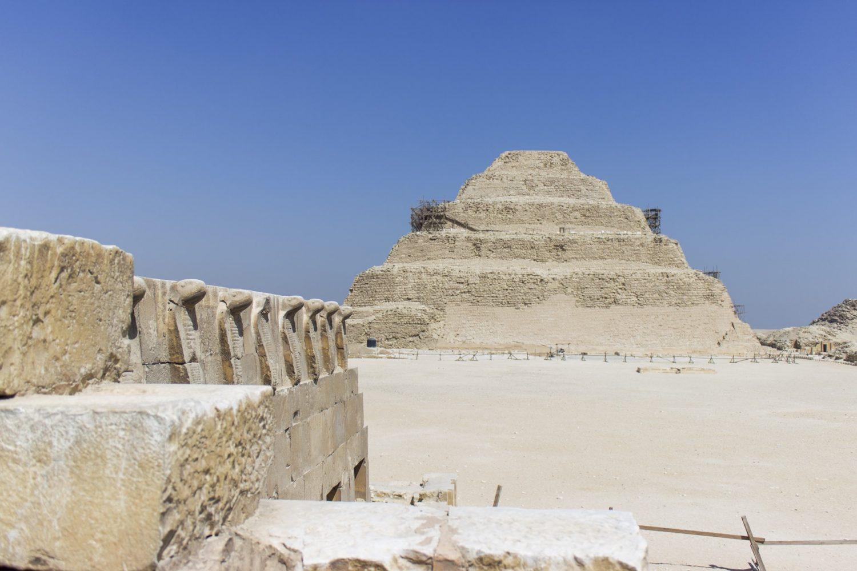 Stufenpyramide von Sakkara Kairo Ägypten