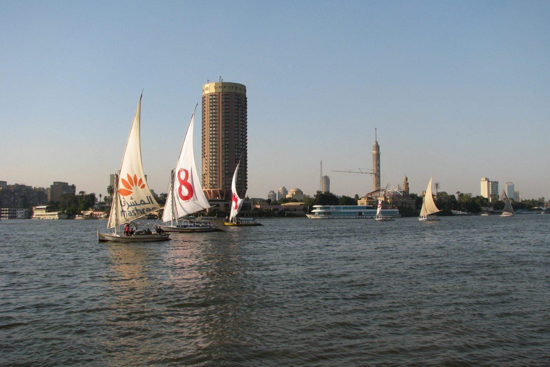 Der Nil in Kairo Sofitel Zamalek