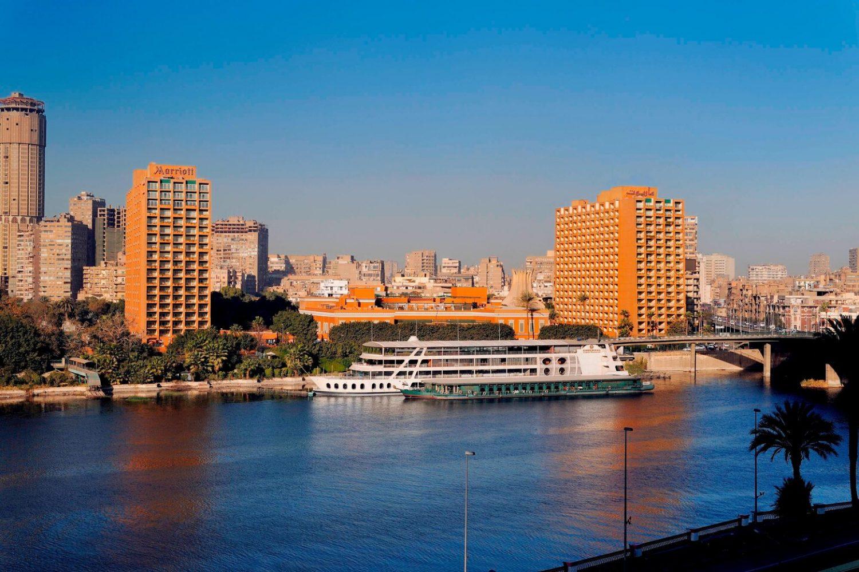 Marriott Omar Khayyam Kairo Außenansicht
