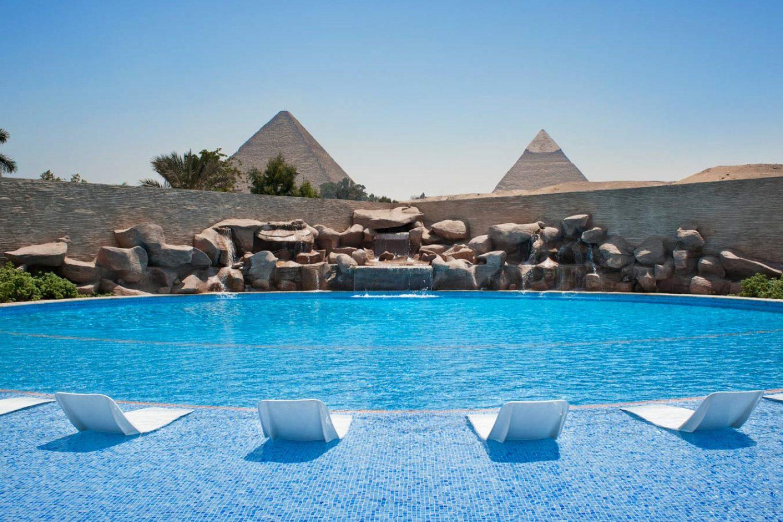 Le Meridien Pyramids Kairo Pool