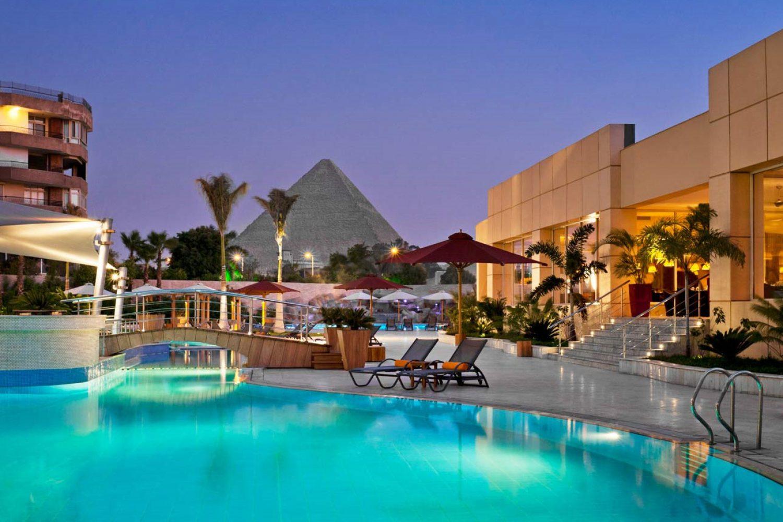 Le Meridien Pyramids Kairo Pyramidenblick