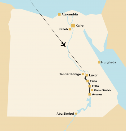 Pyramids 3 nur Nilkreuzfahrt