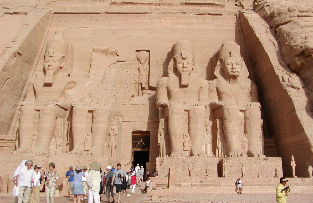 Felsentempel Ramses II in Abu Simbel