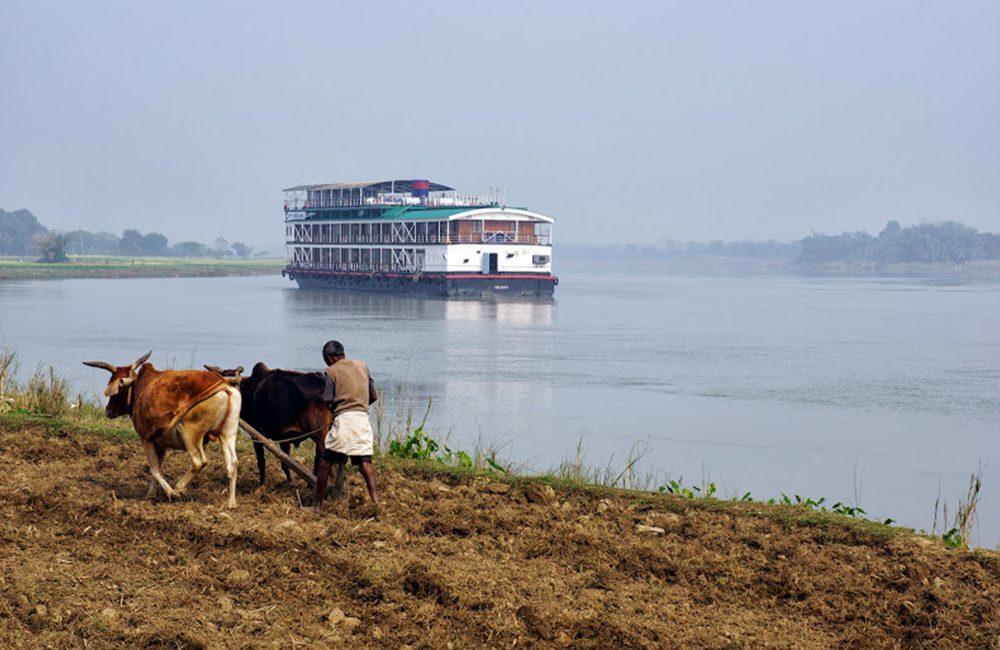 Bengal Ganges Kreuzfahrtschiff Ganges Indien