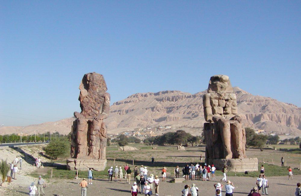 Memnonkolosse Luxor Theben West
