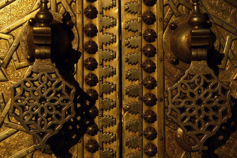 Palasttor Türklopfer Fez Marokko