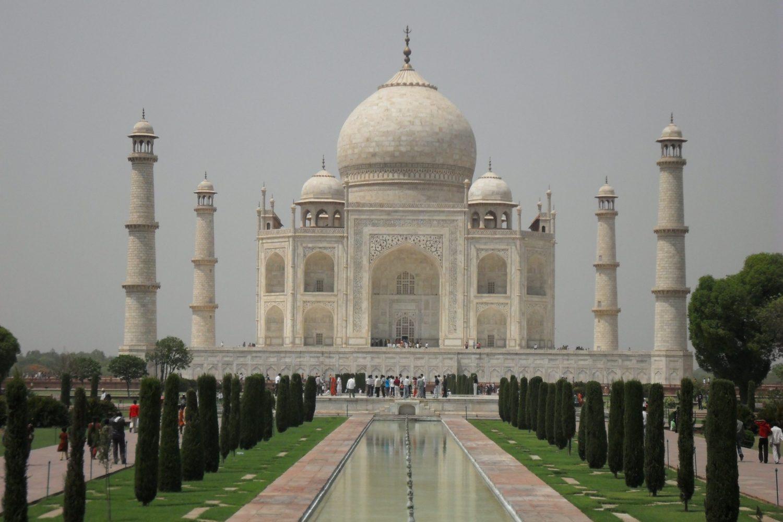 Taj Mahal Mausoleum Agra Uttar Pradesh Indien