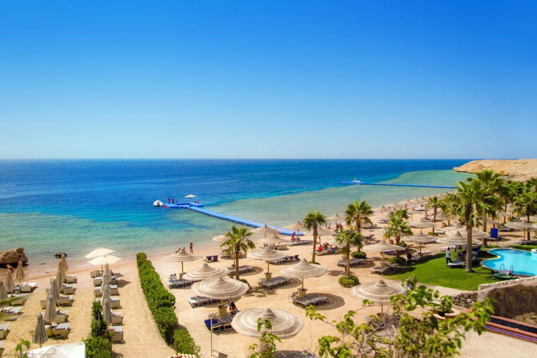 Hotel Savoy Sharm el Sheikh Strand mit Hausriff Ägypten
