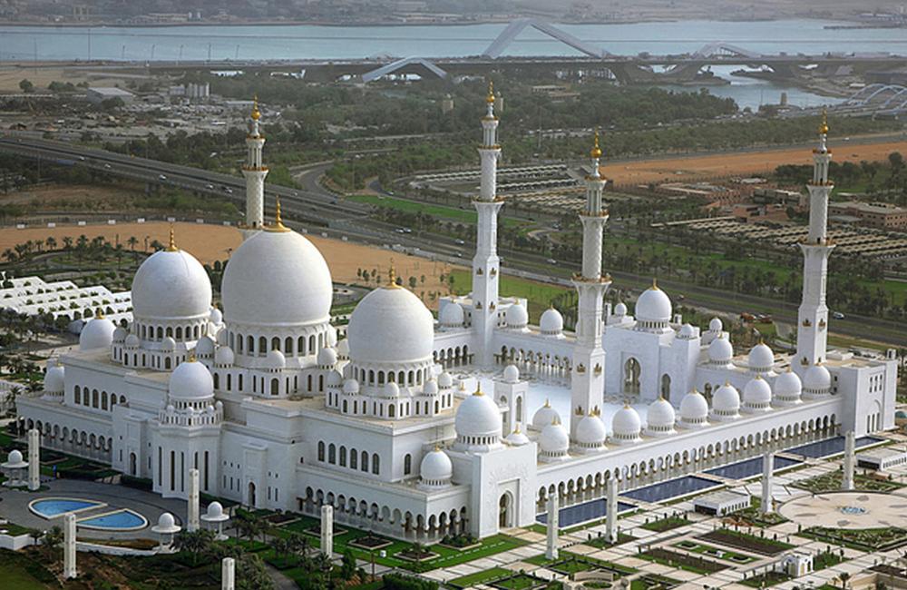 Sheikh Zayed Moschee Abu Dhabi Vereinigte Arabische Emirate