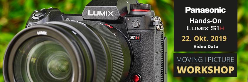 Hands On: Panasonic LUMIX S1H | Video Data Hamburg