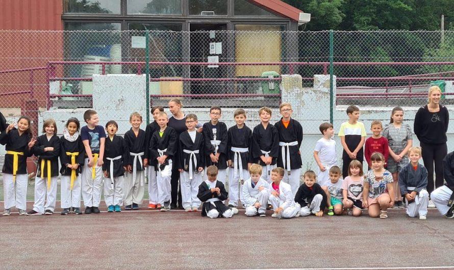 Fin de saison au Karate-Jitsu Nalinnes – Walcourt.