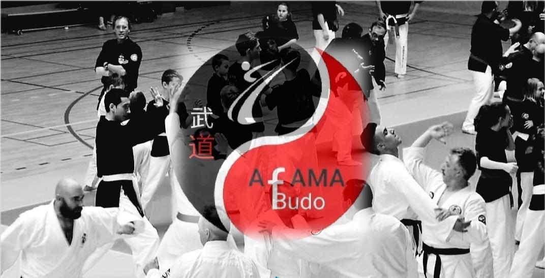 AFAMA BUDO, une marque déposée.