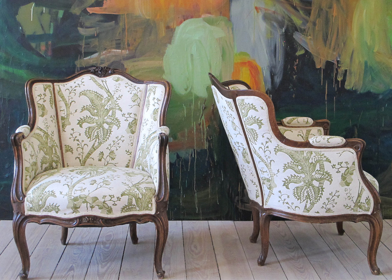 Lænestole, armchair, retro, old