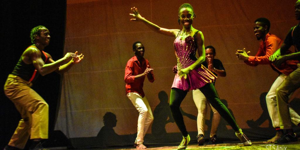 Tanzen in Uganda