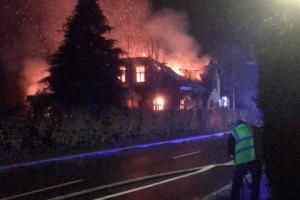 Bygningsbrand Bedsted 24. nov 2018
