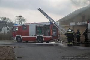 Bygningsbrand I Branderup