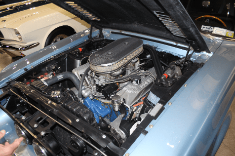 1967 Mustang engine