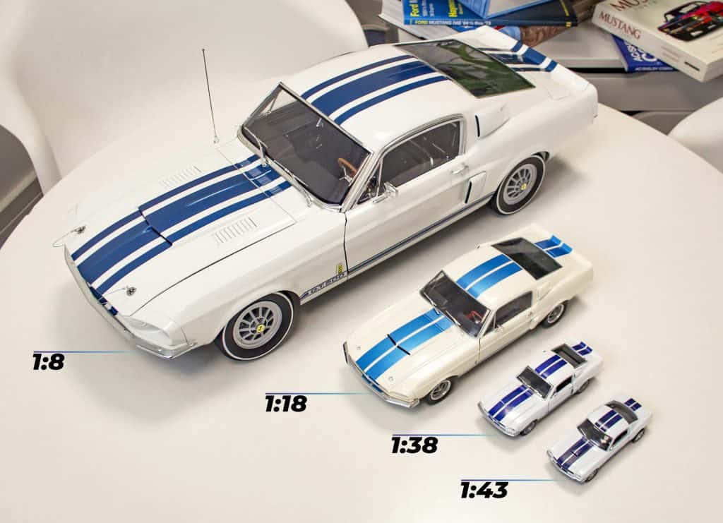 Difference in scales of model cars