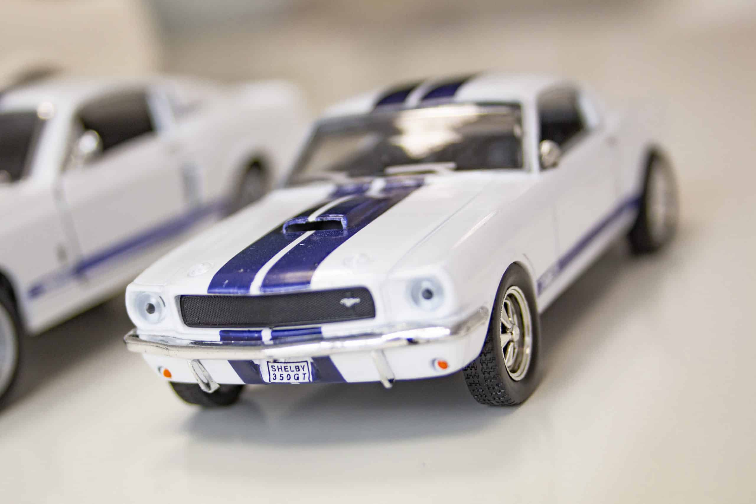 Shelby GT350 at 1:43 scale