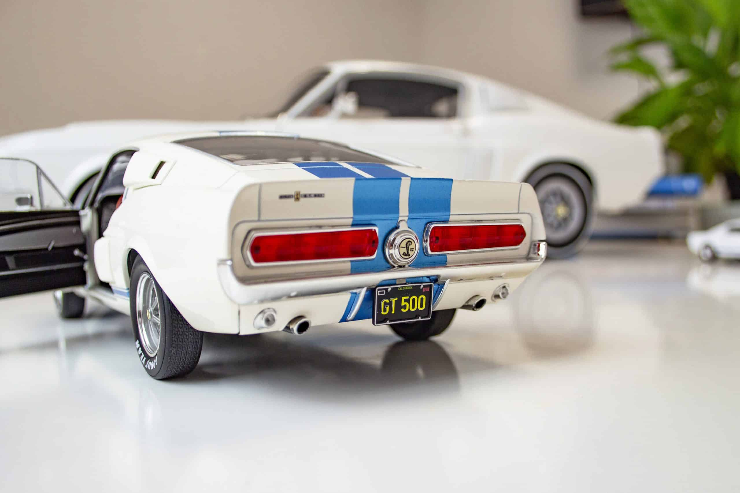Shelby Mustang 1:18 scale