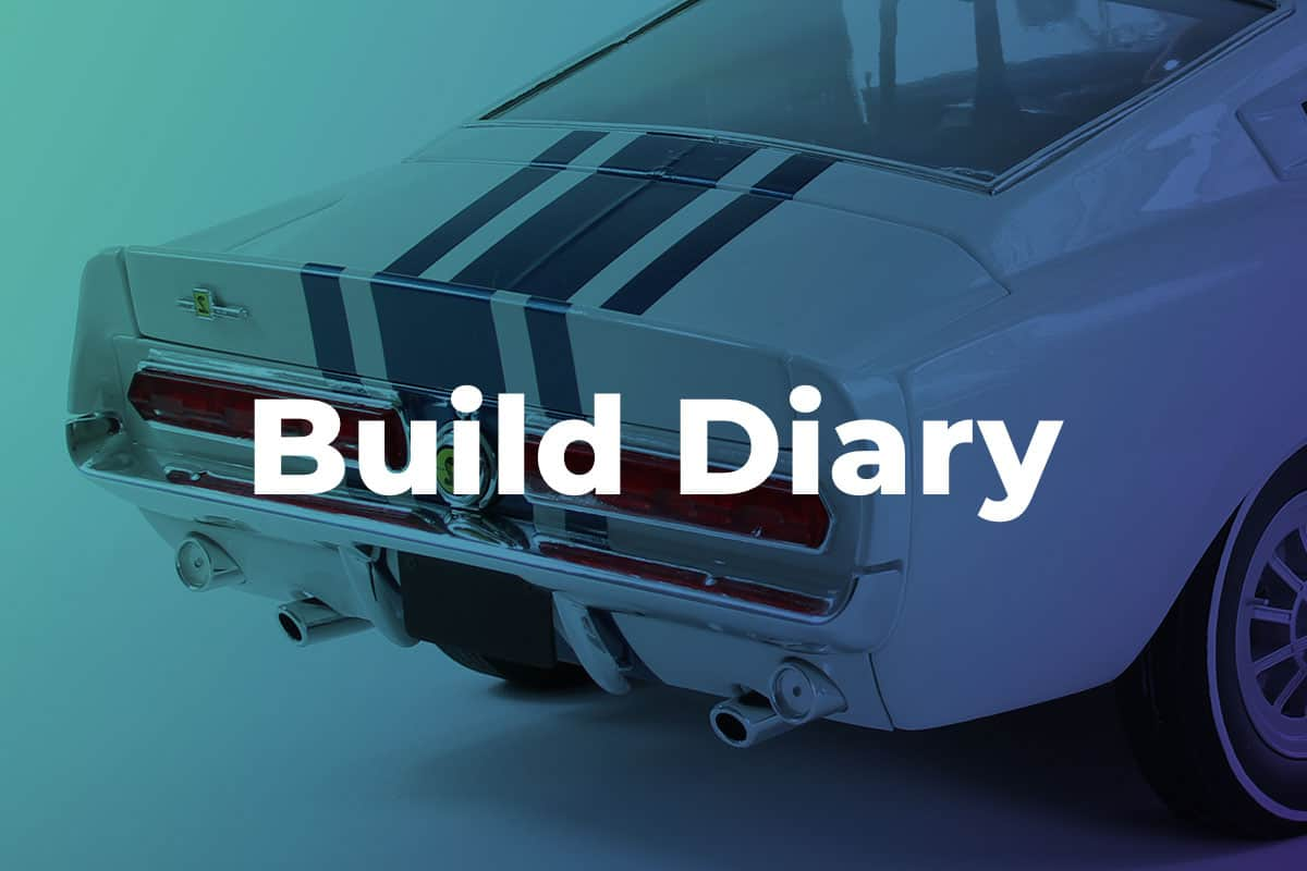 Mustang GT500 build diary