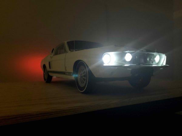 Shelby Mustang lights