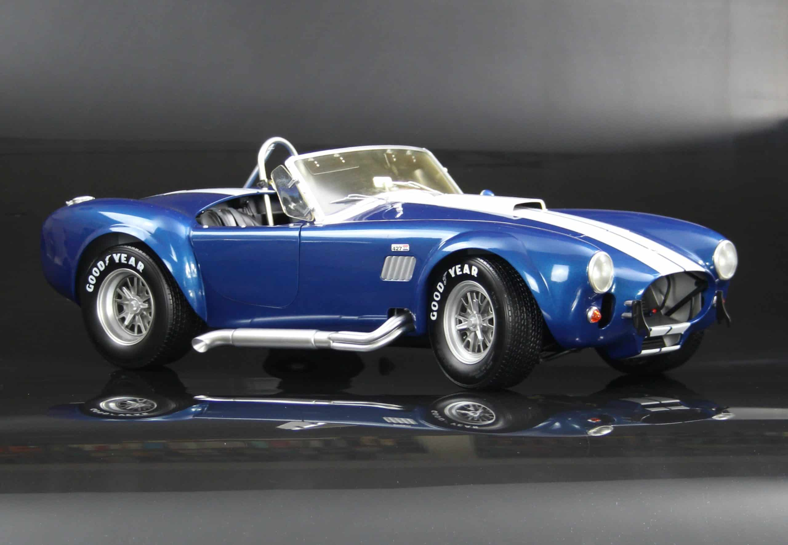 Developing the 1:8 Shelby Cobra