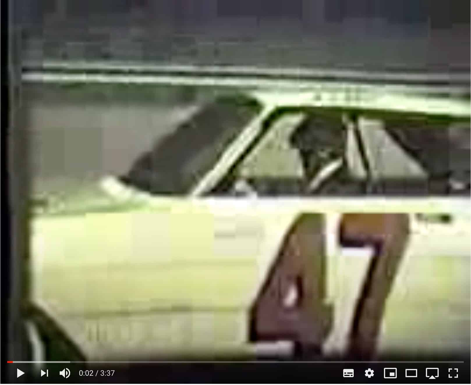 Super Snake Original Footage Thunderbolt tire test 1967