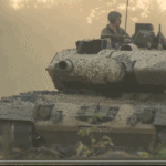 Leopard 2A6 video still