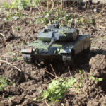 Leopard 2A6 remote control video