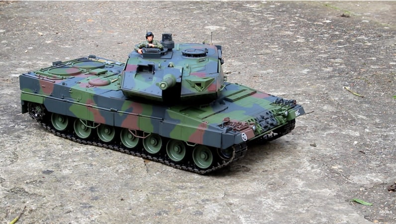 Leopard RC turret