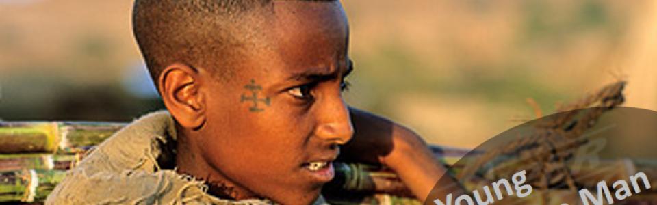 young-amhara-man