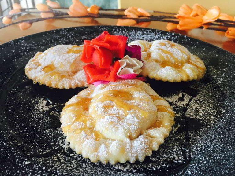 Typical Sardinian Dessert Agriturismo Il Pratone