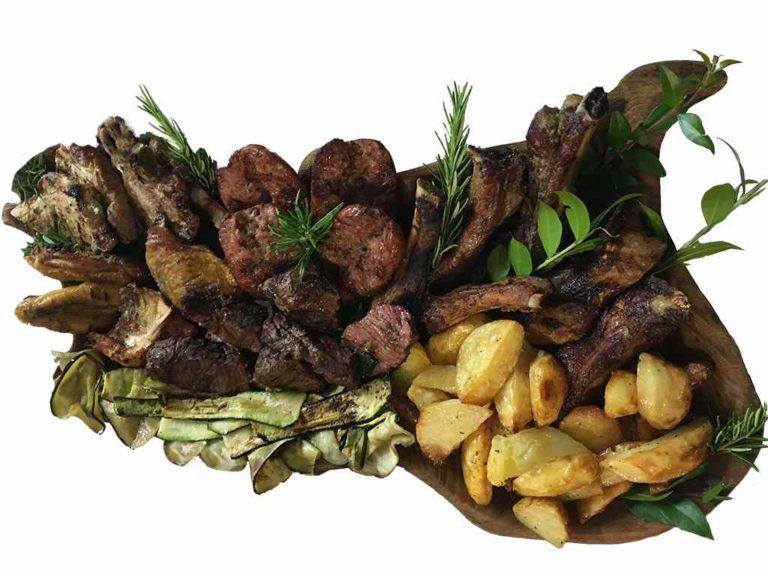 Roast suckling pig Restaurant Agriturismo Il Pratone
