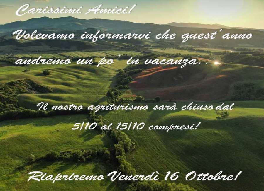 Agriturismo Il Pratone Ottobre