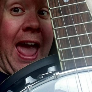 Me with my banjo