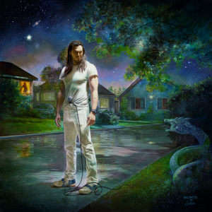 Andrew WK album cover - You're Not Alone