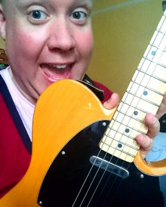 Me and my new (Squier) Telecaster