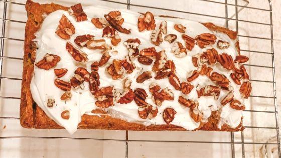 Easy Carrot Cake Bread