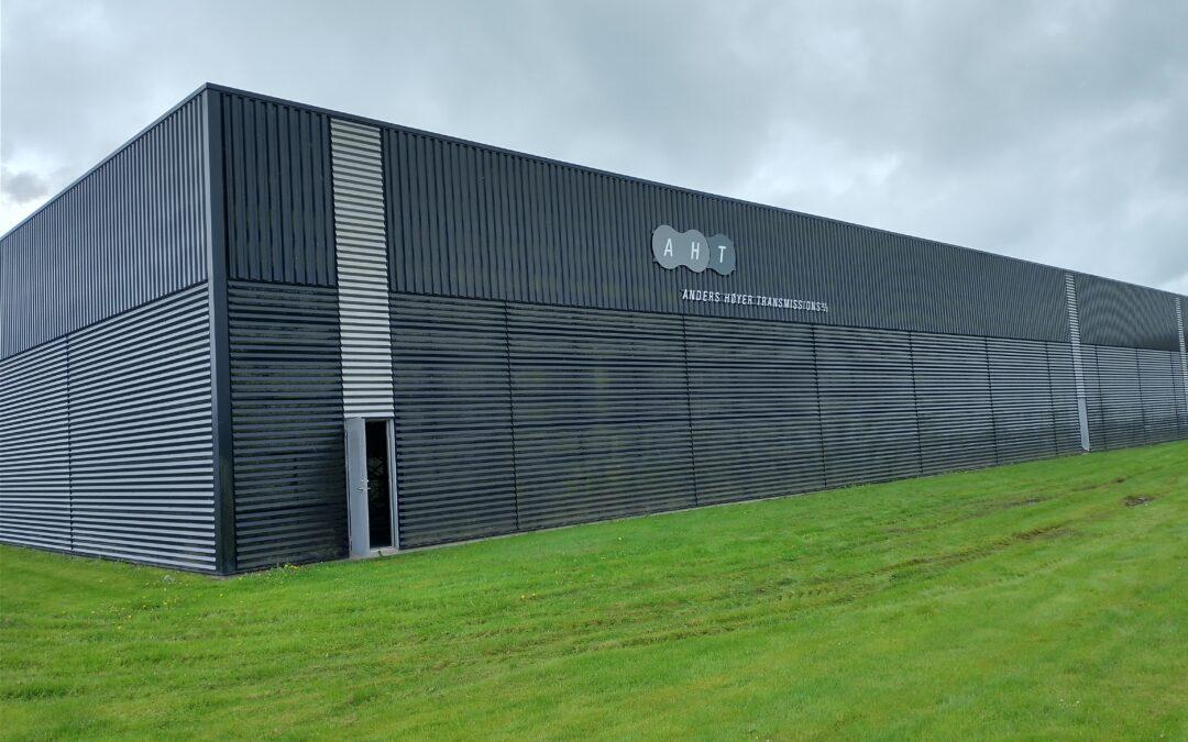 AHT får nyt lager- og logistikcenter