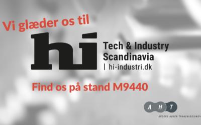AHT på hi Tech & Industry Scandinavia i næste uge