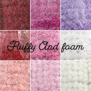 Colour options for Forever Flower Bears Maroon, Dark Pink, Violet,Red, Pink, Silver, Bright Pink, Light Pink and White