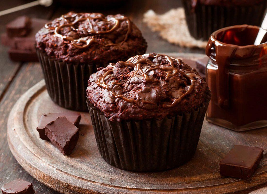 Airfryer-muffins