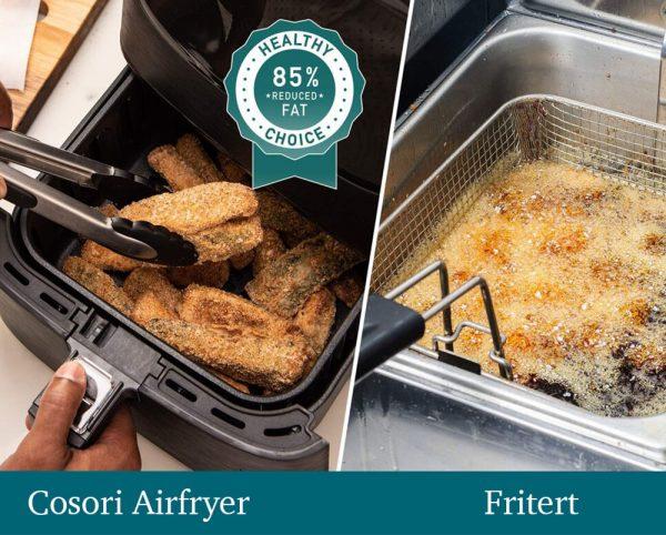 Airfryer premium cosori fritert