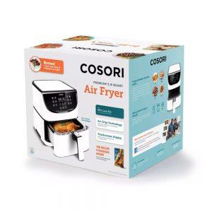 Cosori Premium airfryer innpakning - hvit